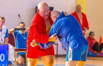 WORLD SAMBO CHAMPIONSHIPS AMONG MASTERS 2018